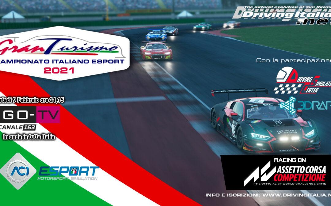 Campionato Italiano Gran Turismo ESport 2021