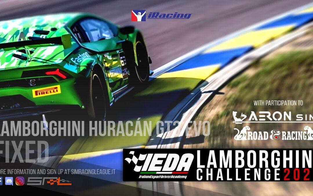 Campionato Lamborghini SRL & IEDA ROUND 3