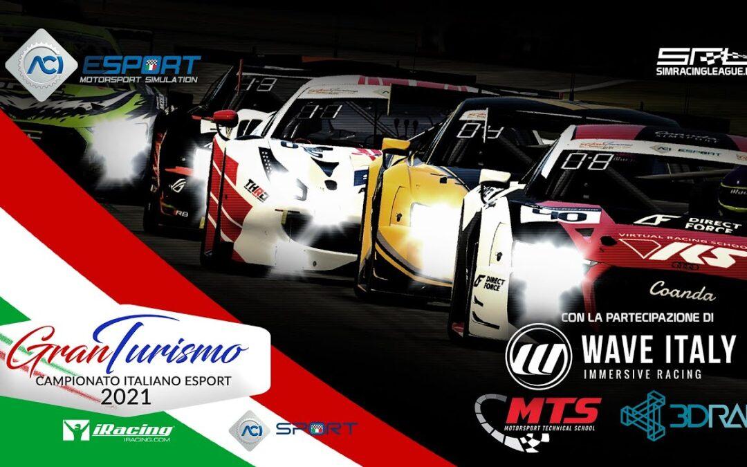 CAMPIONATO ITALIANO ESPORT GT 2021 – ROUND 1 -PRO-